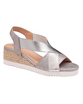 Lotus Penelope Stretch Sandals Standard D Fit