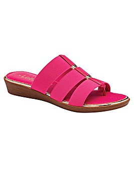 Lotus Nora 3 Strap Sandals Standard D Fit