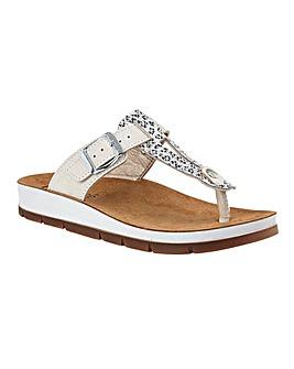 Lotus Palermo Toe Post Sandals Standard D Fit