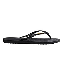 Havaianas Slim Metallic Flip Flops Standard D Fit