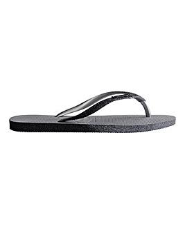 Havaianas Slim Sparkle Flip Flops Standard D Fit