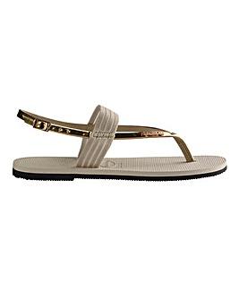 Havaianas You Floripa Toe Post Sandals Standard D Fit