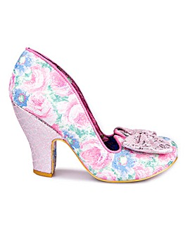 Irregular Choice Nick Of Time Shoes Standard D Fit