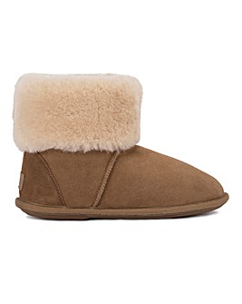 Just Sheepskin Albery Boot Slipper Standard D Fit