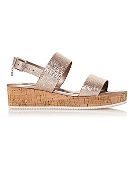 Dune Lennie Wedge Sandals Standard D Fit