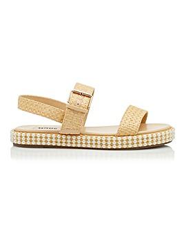 Dune Lyss Embellished Sandals Standard D Fit