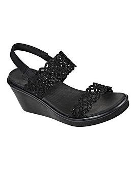Skechers Rumble Sassy Days Sandals Standard D Fit