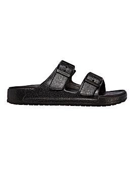 Skechers Cali Shimmer Sandals Standard D Fit