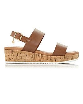 Dune Lennie Demi Wedge Sandals E Fit