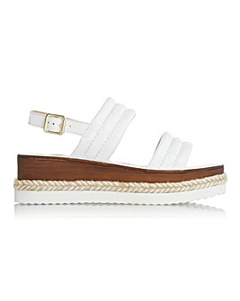 Dune Kazzie Padded Wedge Sandals D Fit