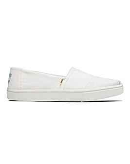 Toms Alpargata Leisure Shoes D Fit