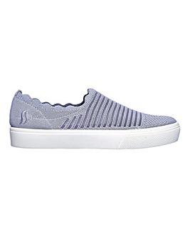 Skechers Poppy Breezy Street Shoes D Fit