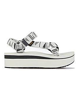 Teva Flatform Chara Universal Sandals Standard D Fit