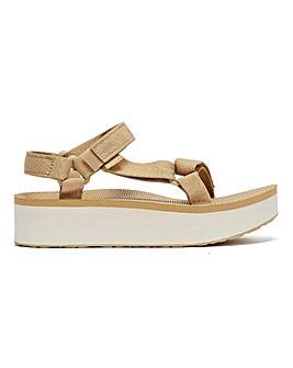 Teva Flatform Universal Sandals Standard D Fit