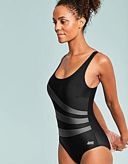 Modern Chic Sandon Scoopback Swimsuit