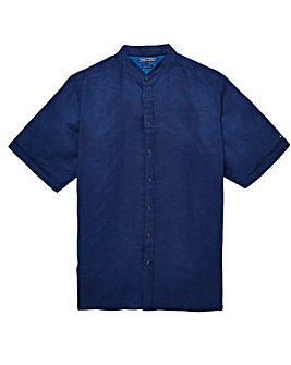 Tommy Hilfiger Mighty Plain Linen Short Sleeve Shirt