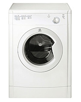 Indesit EcoTime IDV75 7kg Vented Dryer White