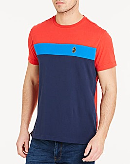 Luke Sport Navy Mix Mitchell T-Shirt R