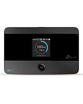 TP-Link 4G Travel Router OLED display