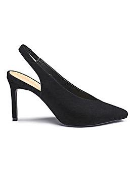 Mel Sling Back Shoe E Fit