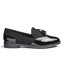 Jessica Tassel Loafers Wide E Fit