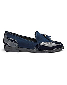 Jessica Tassel Loafers Extra Wide EEE Fit