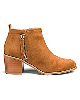 Lucy Side Zip Boots E Fit