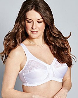 Glamorise Front Fastening Non Wired Bra