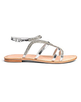 Amy Leather Sandals E Fit