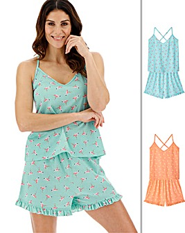 Pretty Secrets 2Pk Cami Shortie Sets