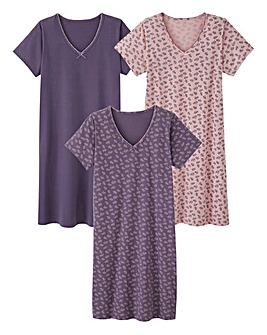 Pretty Secrets 3 Pack Nighties L46