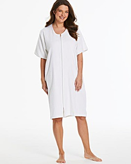 Pretty Secrets Cotton Towelling Zip Gown
