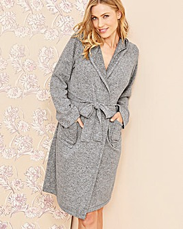 Pretty Secrets Knitted Hooded Gown L36