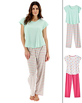 Pretty Secrets 2Pk Short Sleeve Pyjamas