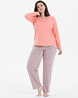 Pretty Secrets Petite Long Sleeve PJ Set
