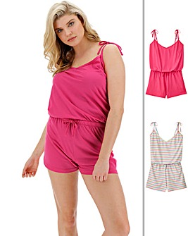 Pretty Secrets 2Pk Playsuits