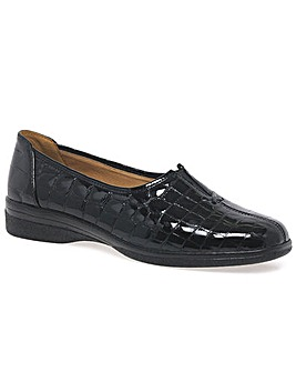 Gabor Alice Leather Wider Fit Shoes