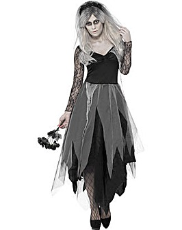 Halloween Ladies Graveyard Bride Costume