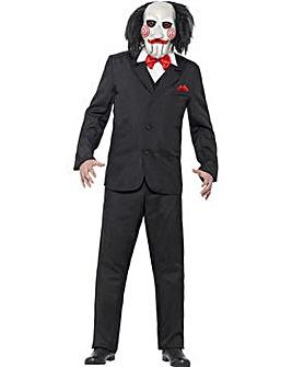 Halloween Mens Saw Jigsaw Costume