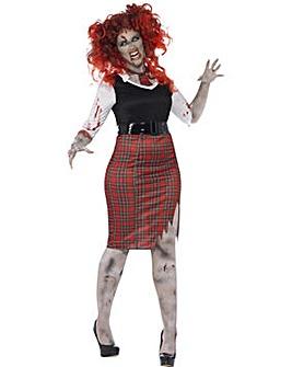 Halloween Curves Zombie SchoolGirl