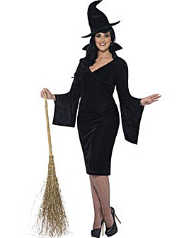 Halloween Ladies Curves Witch Costume