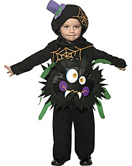 Halloween Child Crazy Spider Costume