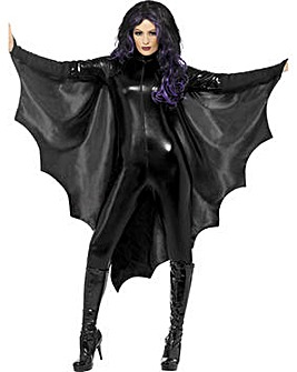 Halloween Adult Vampire Bat Wings