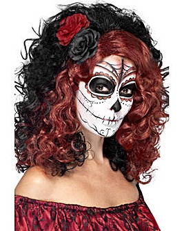 Halloween Day of the Dead Wig
