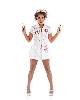 Halloween Ladies Nurse Nightmare Costume