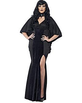 Halloween Ladies Curves Vamp Costume