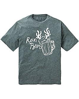 Jacamo Rein Beer Xmas T-Shirt L