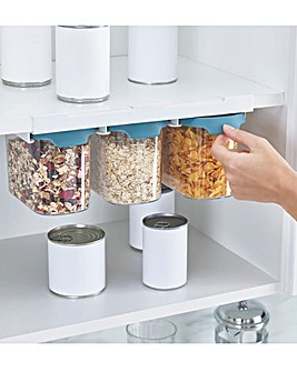 Joseph Joseph CupboardStore 3 x 1.3L Food Storage