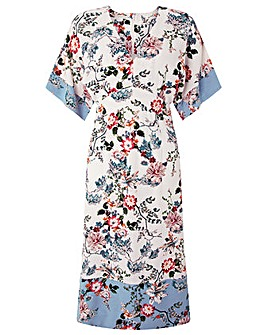 Monsoon Klara Print Kimono Dress