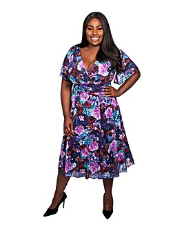 Scarlett & Jo Deborah Floral Dress